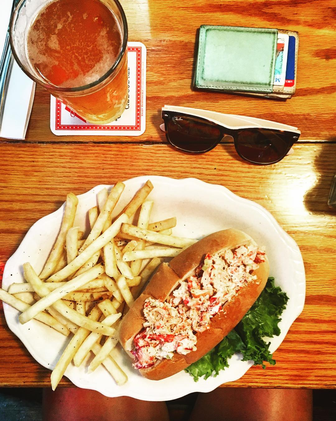 Chatam Squire Cape Cod lobster roll
