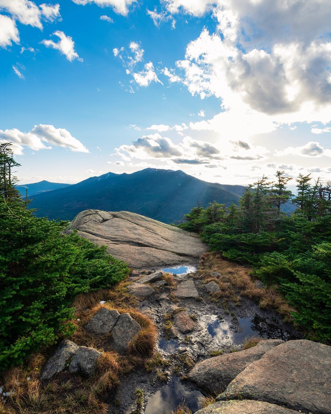 Mount Garfield in New Hampshire