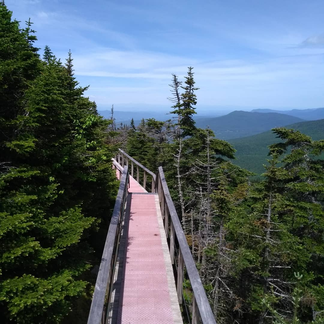 Killingston Peak Bucklin Trail in Vermont